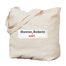 Question Elian Authority Tote Bag