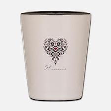 Love Winnie Shot Glass