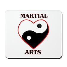 Love Martial Arts Mousepad