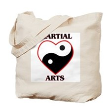 Love Martial Arts Tote Bag