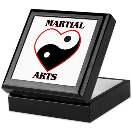 Love Martial Arts Keepsake Box