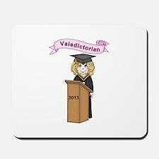Valedictorian Girl 2013 Mousepad