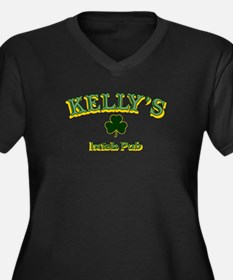 Kellys Irish Pub Plus Size T-Shirt