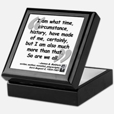 Baldwin More Quote Keepsake Box