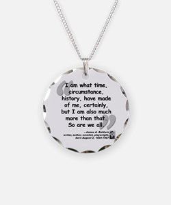 Baldwin More Quote Necklace