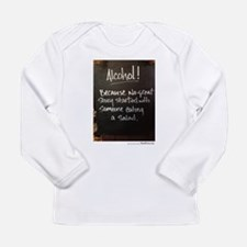 The truth about Alcohol Long Sleeve T-Shirt