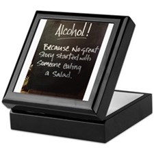 The truth about Alcohol Keepsake Box