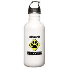 Lhasa Apso Crossing Water Bottle