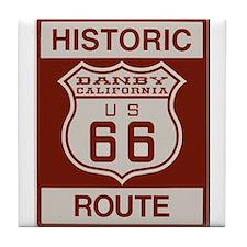 Danby Route 66 Tile Coaster
