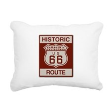 Danby Route 66 Rectangular Canvas Pillow