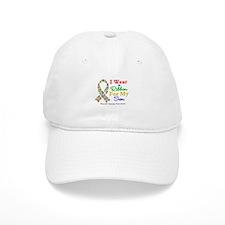 I Wear Autism Ribbon For My Son Baseball Cap