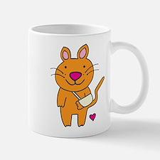 Broken Kitty Small Mugs