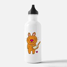 Broken Kitty Water Bottle