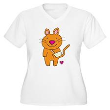 Broken Kitty Plus Size T-Shirt