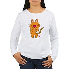 Broken Kitty Long Sleeve T-Shirt