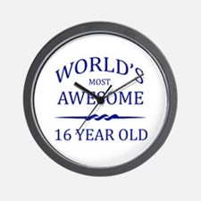 World's Most Awesome 16 Year Old Wall Clock