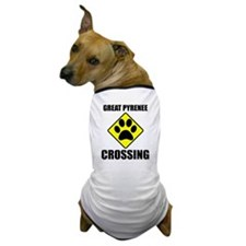 Great Pyrenee Crossing Dog T-Shirt