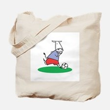 Soccer Cow Tote Bag