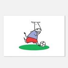 Soccer Cow Postcards (Package of 8)