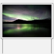Aurora borealis - Yard Sign