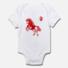 Asian Horse - Baby Bodysuit
