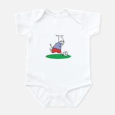 Soccer Cow Infant Bodysuit