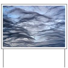Altocumulus undulatus clouds - Yard Sign