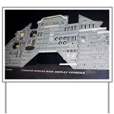Apollo control panel - Yard Sign