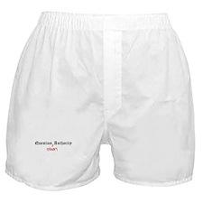 Question Efrain Authority Boxer Shorts