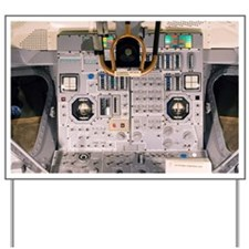 Apollo Lunar Module interior - Yard Sign