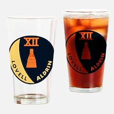 Gemini 12 Lovell/Aldrin Drinking Glass