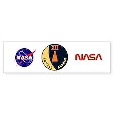 Gemini 12 Lovell/Aldrin Bumper Sticker