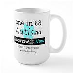Autism Awareness Blue Mug