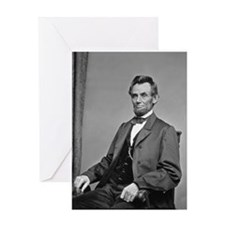 abraham_lincoln process 8x10 Greeting Cards