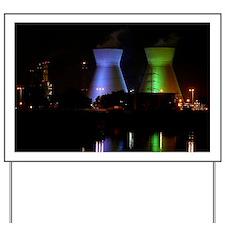 Haifa petrochemical plant - Yard Sign
