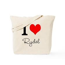 I Love Rydel shirt Tote Bag