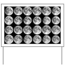 Lunar libration sequence - Yard Sign