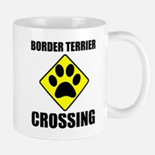 Border Terrier Crossing Mug