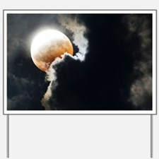 Partial lunar eclipse - Yard Sign