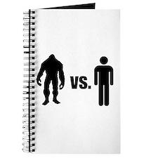 Bigfoot VS Human Journal