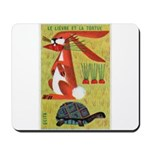 Vintage The Tortoise and the Hare Matchbox Label M