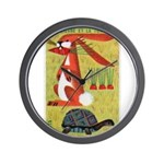 Vintage The Tortoise and the Hare Matchbox Label W