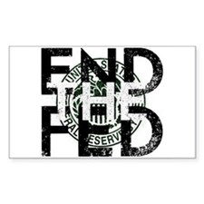 End the Fed Green Decal