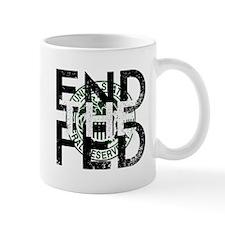 End the Fed Green Mug