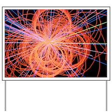 Simulation of Higgs boson production - Yard Sign