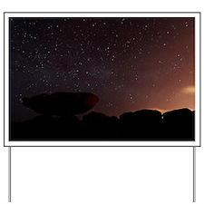 Stars in a night sky - Yard Sign