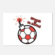 Soccer is da Bomb Postcards (Package of 8)
