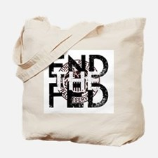 End the Fed Red Tote Bag