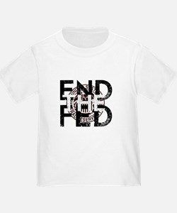 End the Fed Red T-Shirt