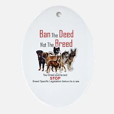 Anti-BSL Oval Ornament